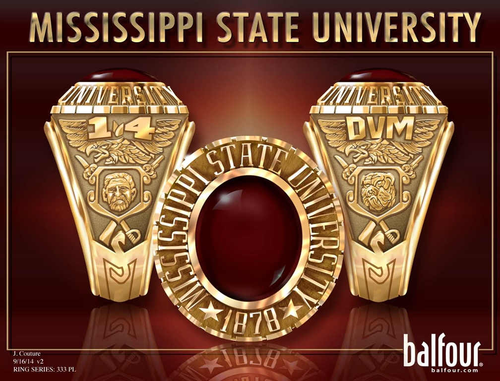 Mississippi State University Development and Alumni - Class Ring