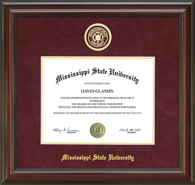 Mississippi State University Development and Alumni - MSU diploma ...