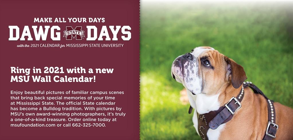 Msu 2021 Calendar Mississippi State University Development and Alumni   Purchase