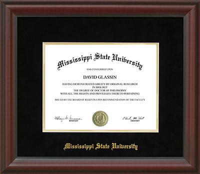 Mississippi State University Development and Alumni - MSU diploma ...